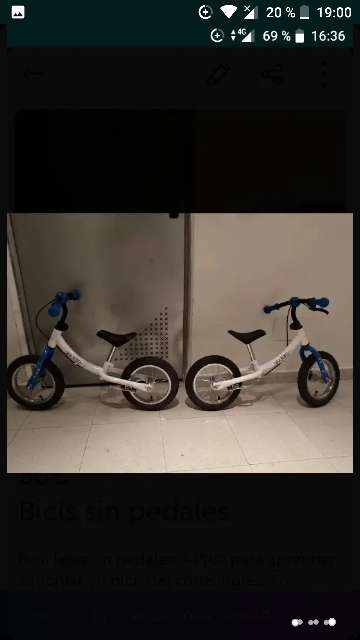 Imagen producto Bici sin pedales 3