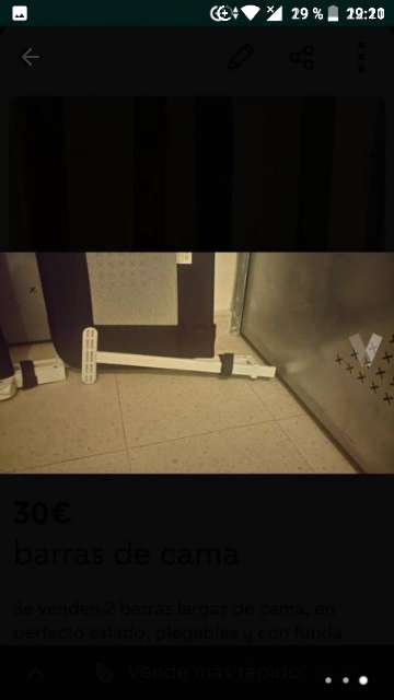 Imagen producto Barras de cama 3
