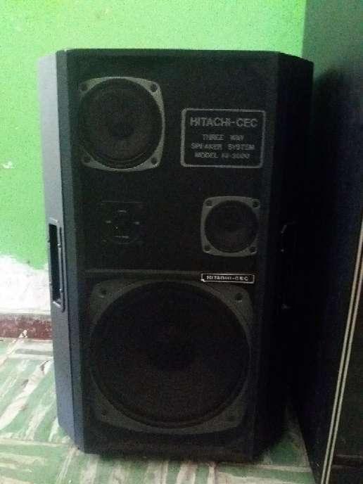 Imagen producto Equipo de sonido antiguo Hitachi  2