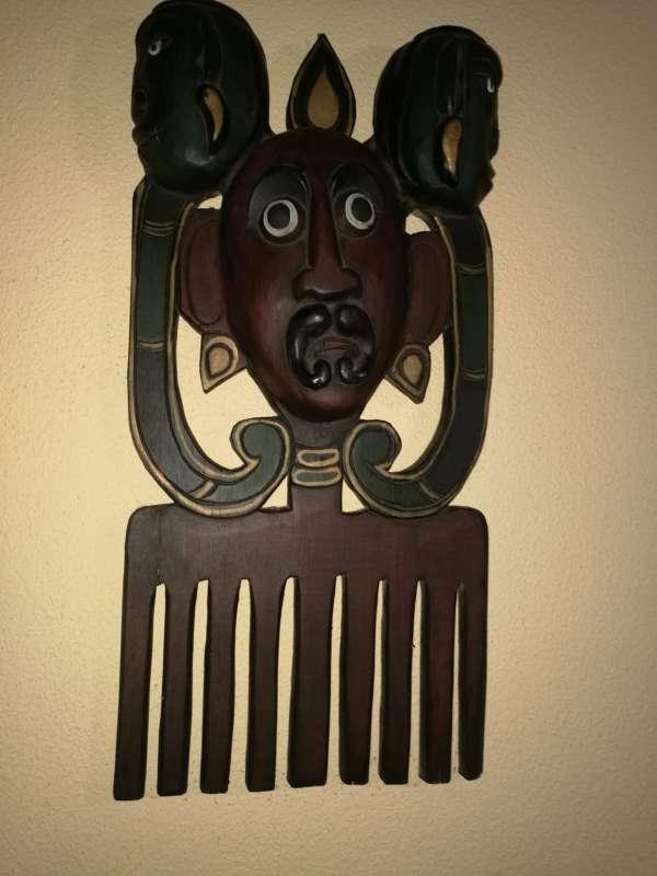 Imagen producto Mascaras y escudo y lanzas tribales 2
