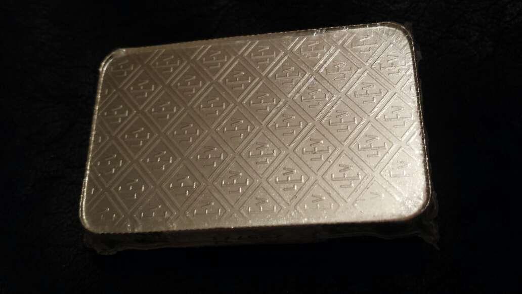 Imagen producto Lingote de plata pura 999 de 100 gramos  3
