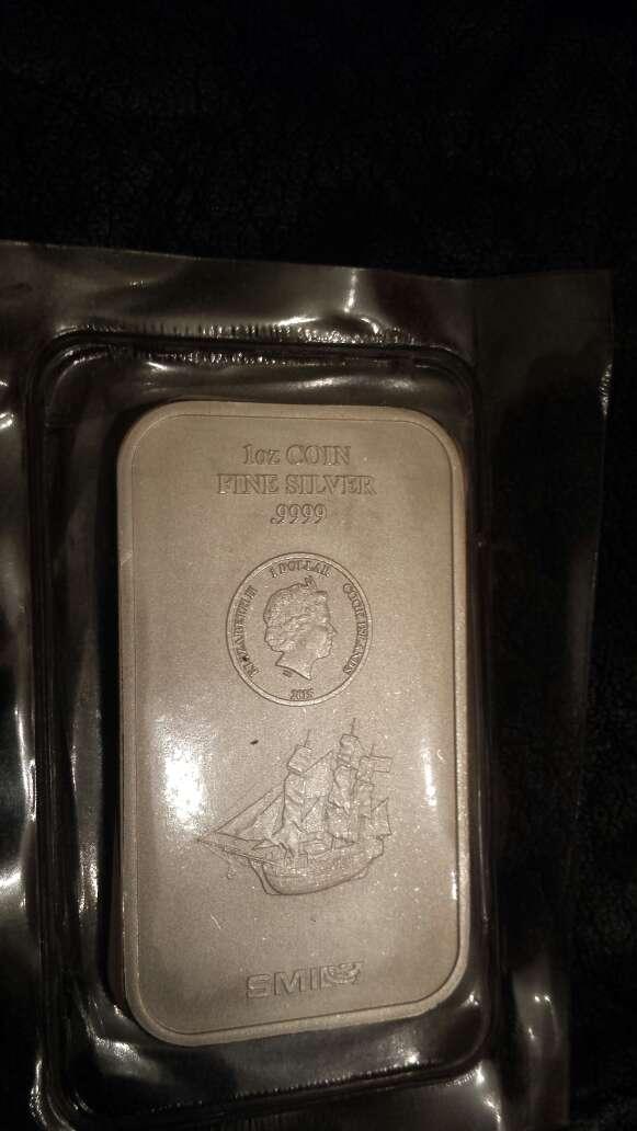 Imagen Onza troy de plata pura 999