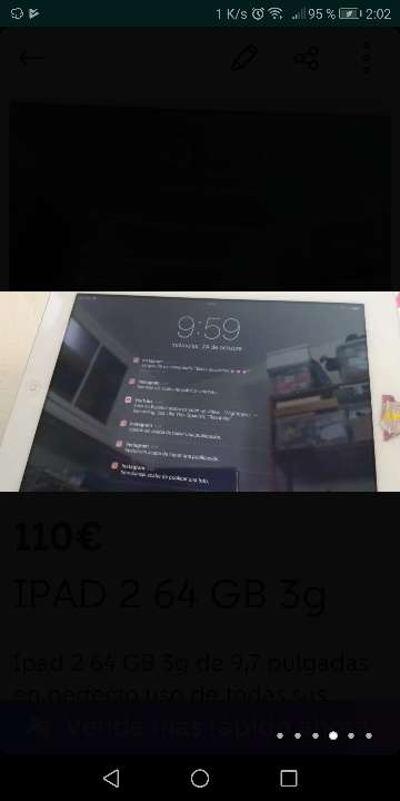 Imagen Ipad 2 wifi 3g 64 gb