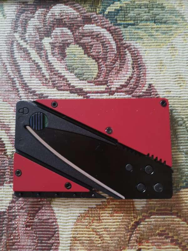 Imagen producto Navaja tarjeta 1