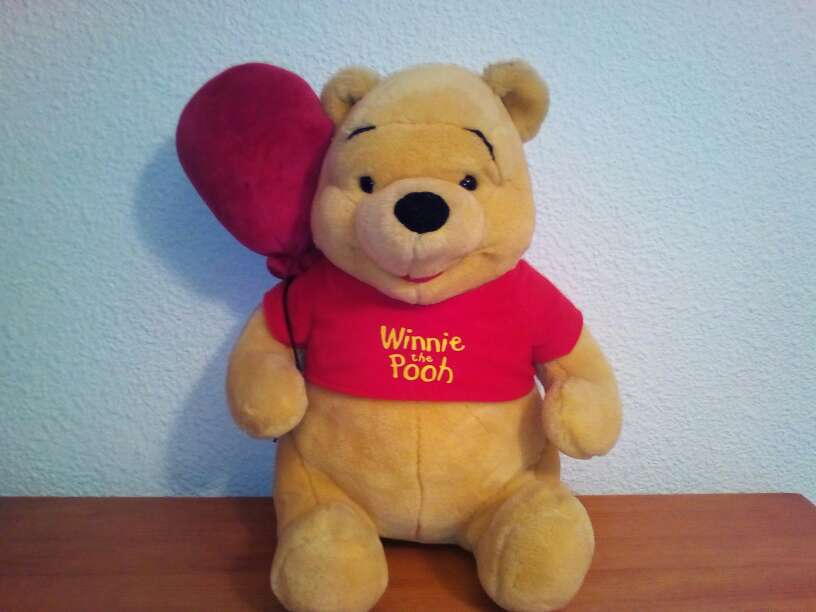 Imagen 0so de peluche winee the pood Disney juguete  peluche