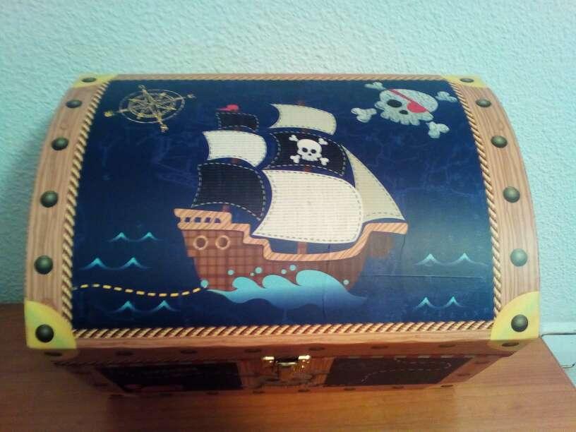 Imagen producto Baúl cofre pirata Barco 3