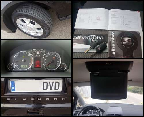 Imagen producto Seat alhambra tiptronic 1.9 tdi 115cv -2006- 4