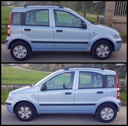 Imagen producto Fiat panda 1.2 active 80cv -2007- 3