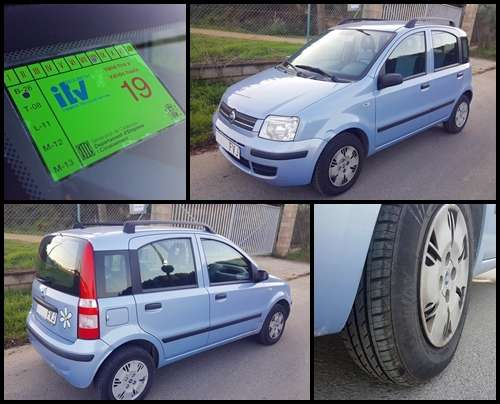 Imagen producto Fiat panda 1.2 active 80cv -2007- 2