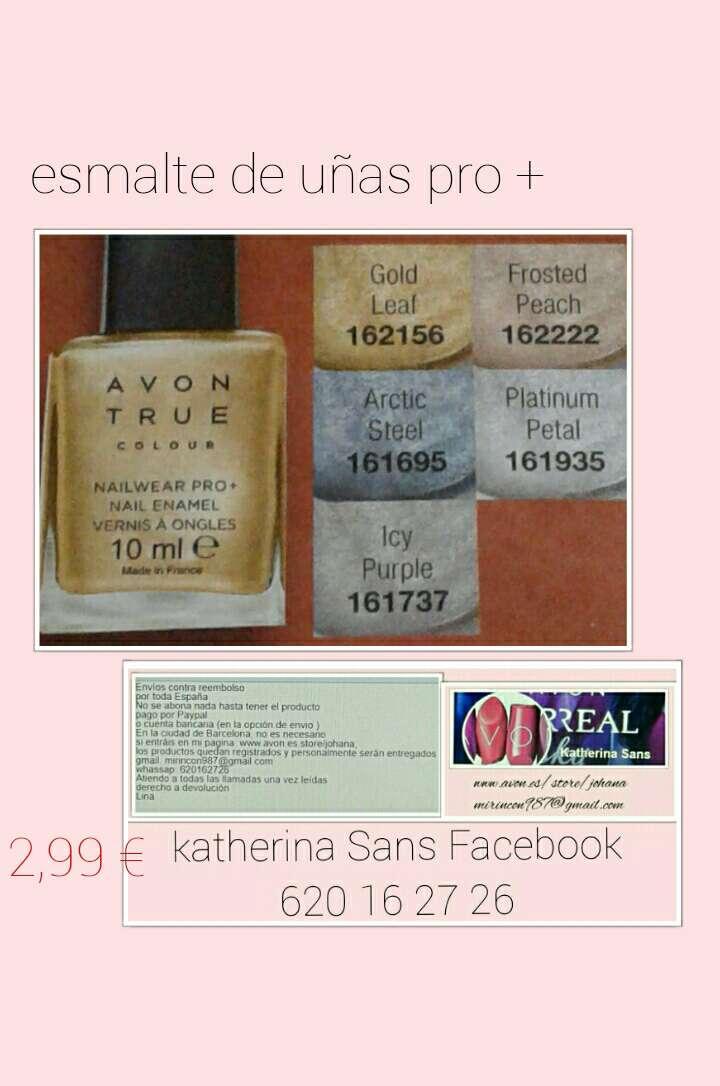 Imagen producto Esmalte de uñas pro+ 5