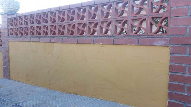 Imagen Monocapa . Restauración de muros