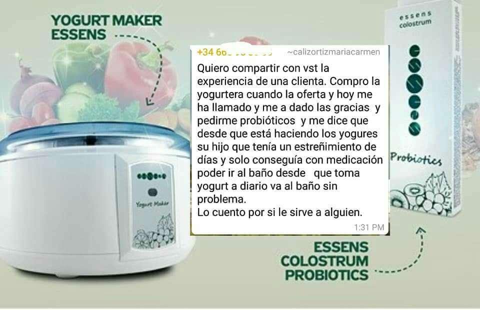 Imagen producto Set yogurtera calostro +  2