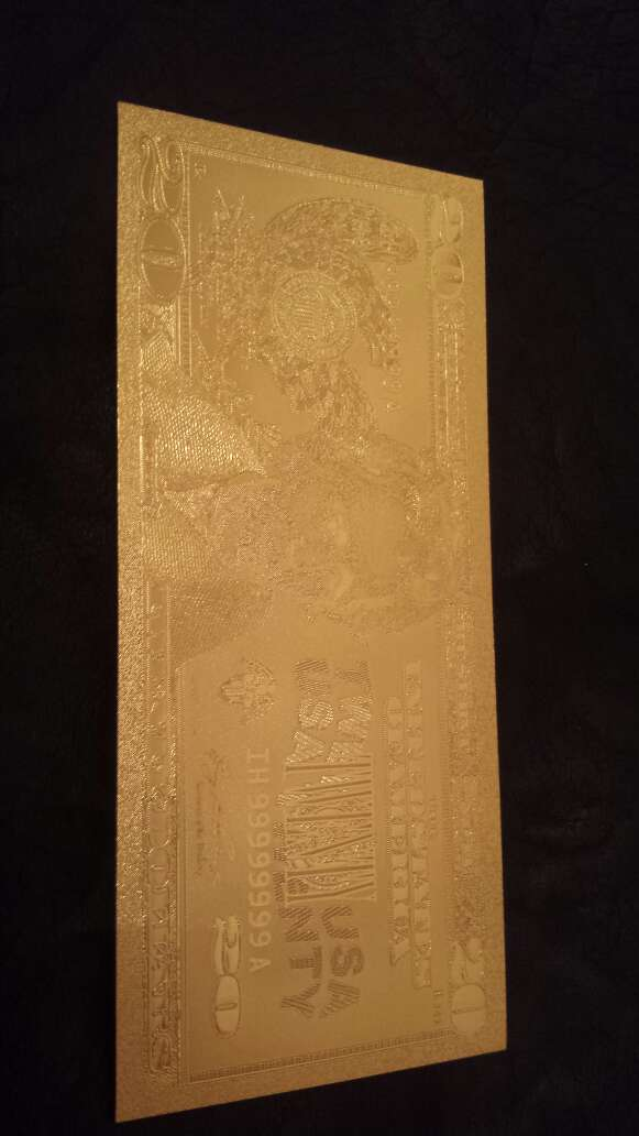 Imagen producto Billete dólar 20 50 o 100 oro 2