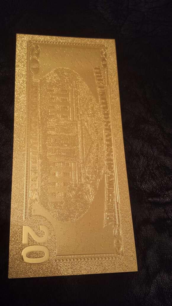 Imagen producto Billete dólar 20 50 o 100 oro 3