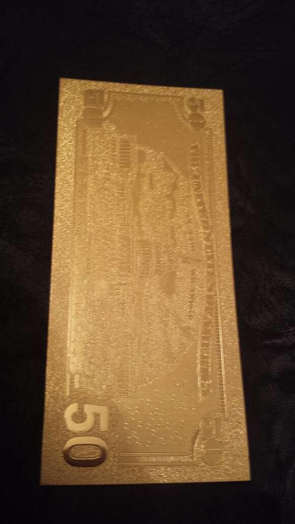 Imagen producto Billete dólar 20 50 o 100 oro 5