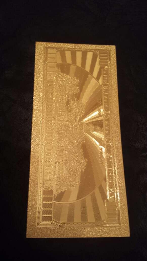 Imagen producto Billete dólar 20 50 o 100 oro 7