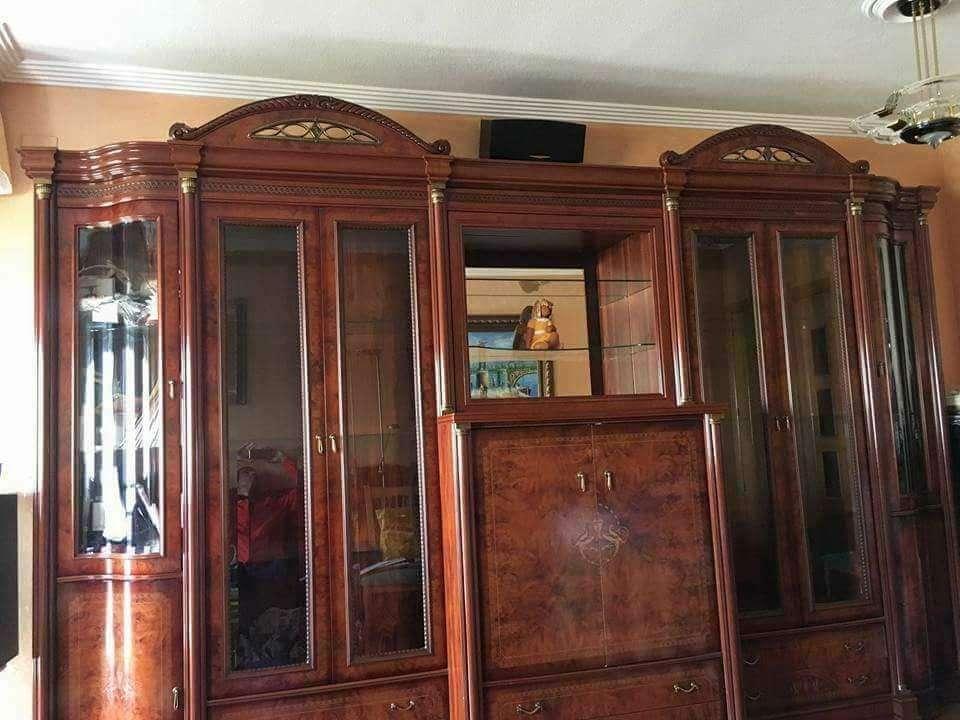 Imagen producto Mueble salon barnizado nogal  2