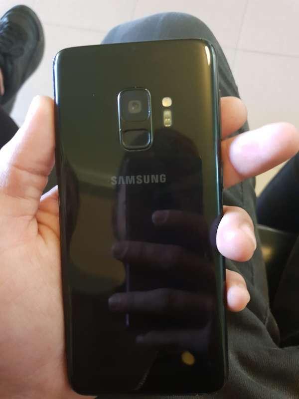 Imagen Samsung Galaxy S9 (nuevo sin ningun uso de color negro)