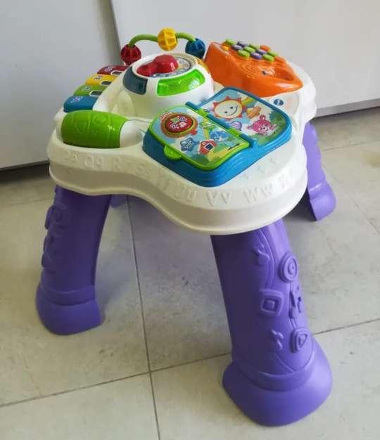 Imagen mesa actividades para bebés