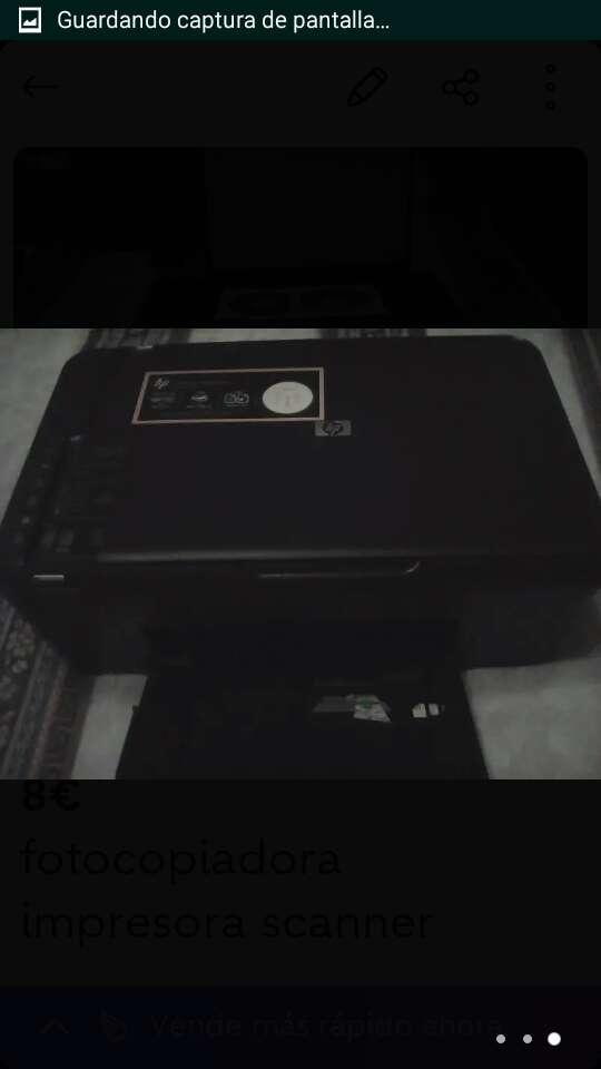 Imagen fotocopiadora, impresora y scanner