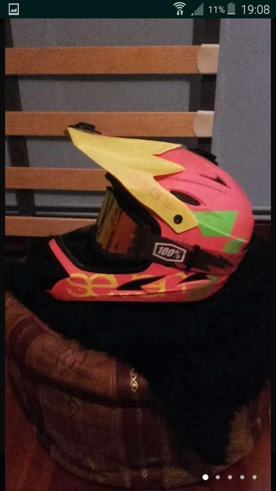 Imagen producto Casco de moto cross 5