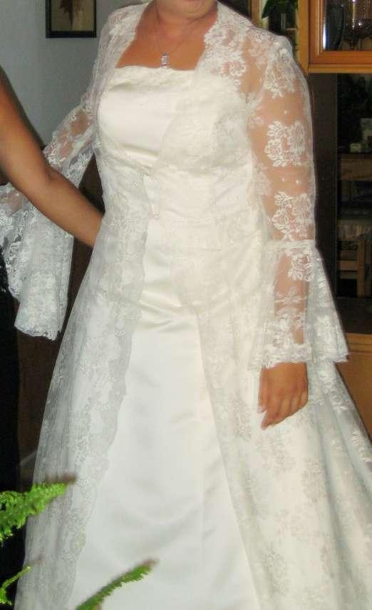 Imagen producto Bajado de precio. Vestido de novia completo  2