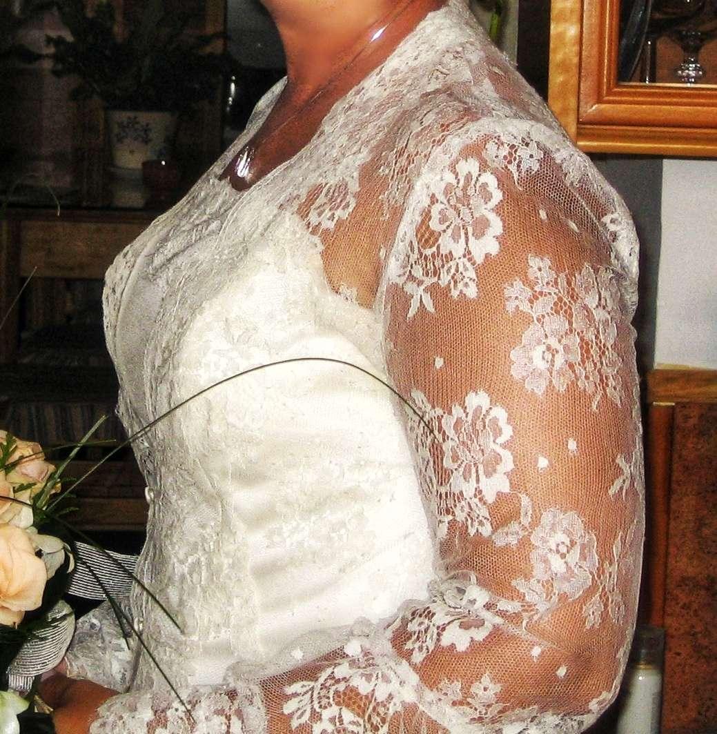 Imagen producto Bajado de precio. Vestido de novia completo  5