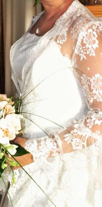 Imagen producto Bajado de precio. Vestido de novia completo  6