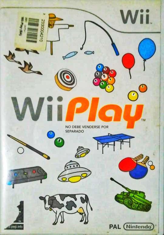 Imagen producto Juego wii play para wii y wii U  1