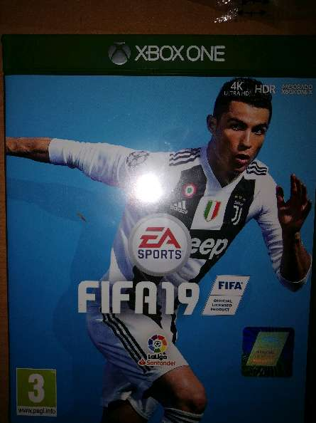 Imagen Fifa19 Xbox one