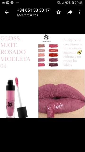 Imagen producto Lip gloss Matte Essens 3