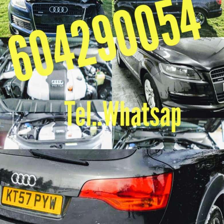 Imagen producto Audi q7 despiece -bmw x3 4