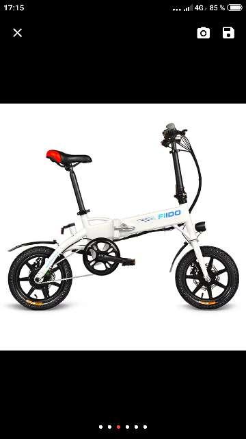 Imagen Bicicleta eléctrica plegable FIIDO D1