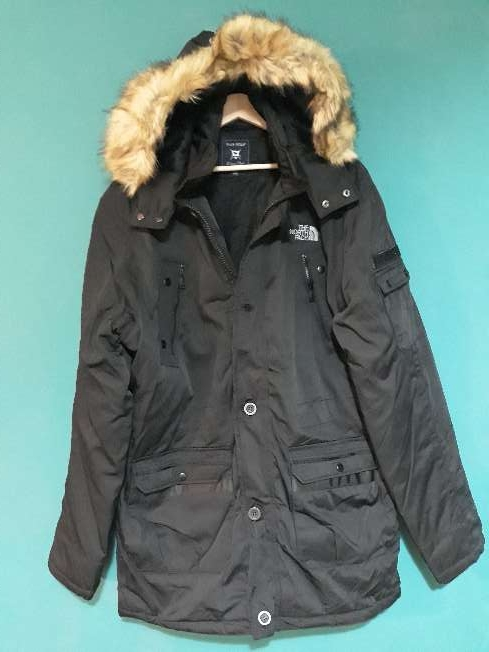 Imagen parka modelo the north face talla L