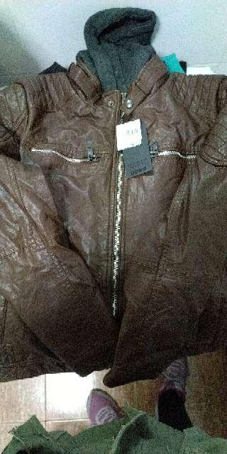Imagen producto Chaqueta de hombre marrón 1