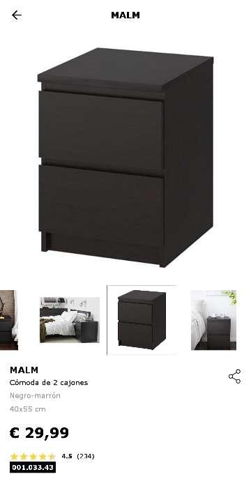 Imagen producto 2 Cómodas MALM de IKEA/Mesitas de noche  3