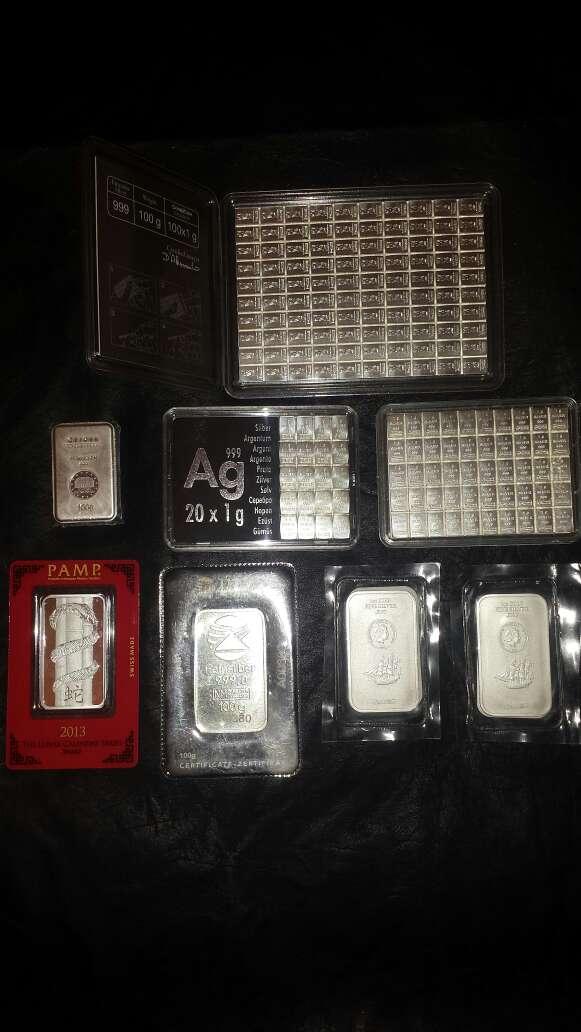 Imagen lote colección de plata pura 999