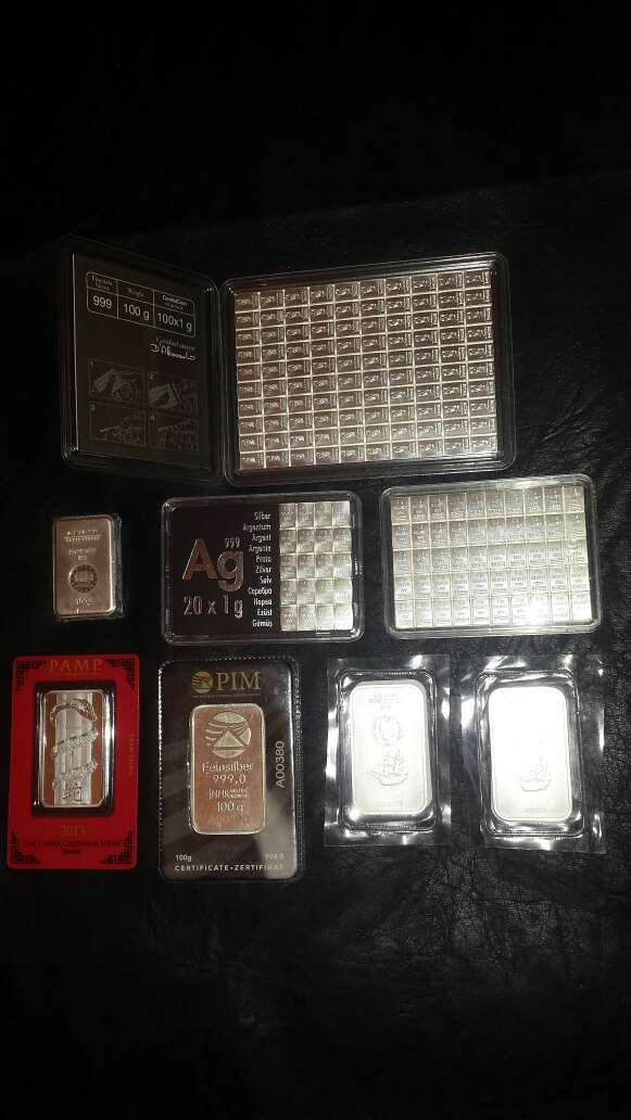 Imagen producto Lote colección de plata pura 999 2