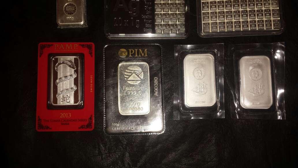 Imagen producto Lote colección de plata pura 999 4