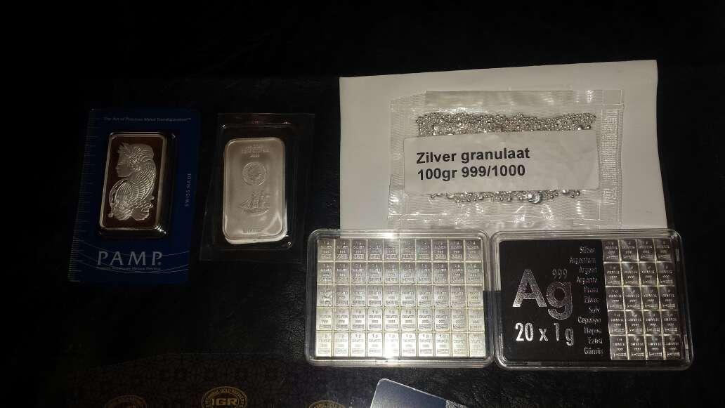 Imagen producto Lingotes de plata 999 y oro 999 2