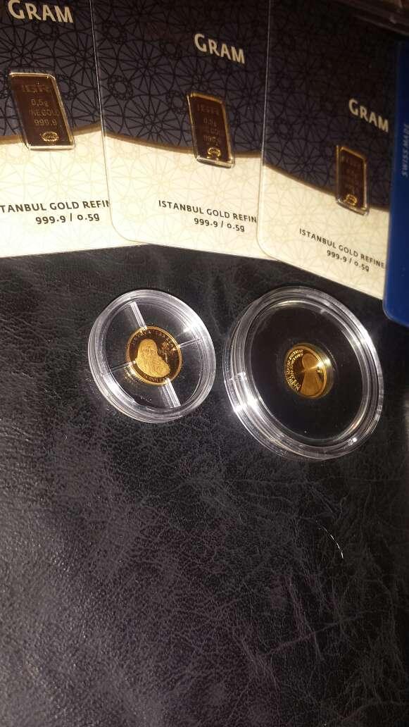 Imagen producto Lingotes de plata 999 y oro 999 6