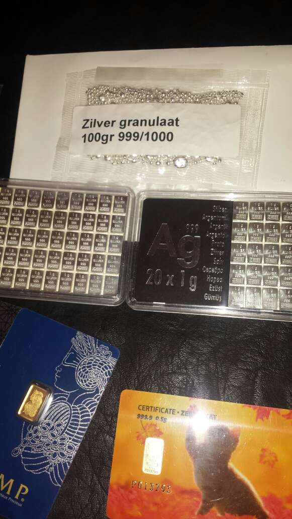 Imagen producto Lingotes de plata 999 y oro 999 7