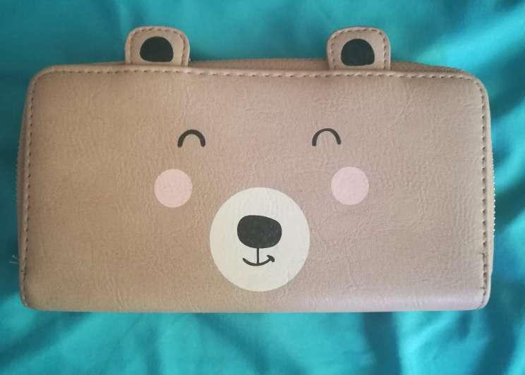 Imagen cartera de oso