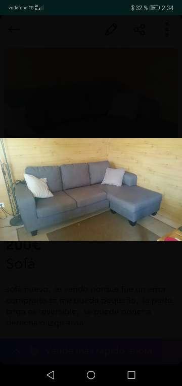 Imagen producto Sofá tres plazas  1