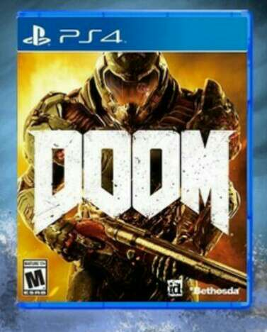 Imagen ps4  doom videojuego