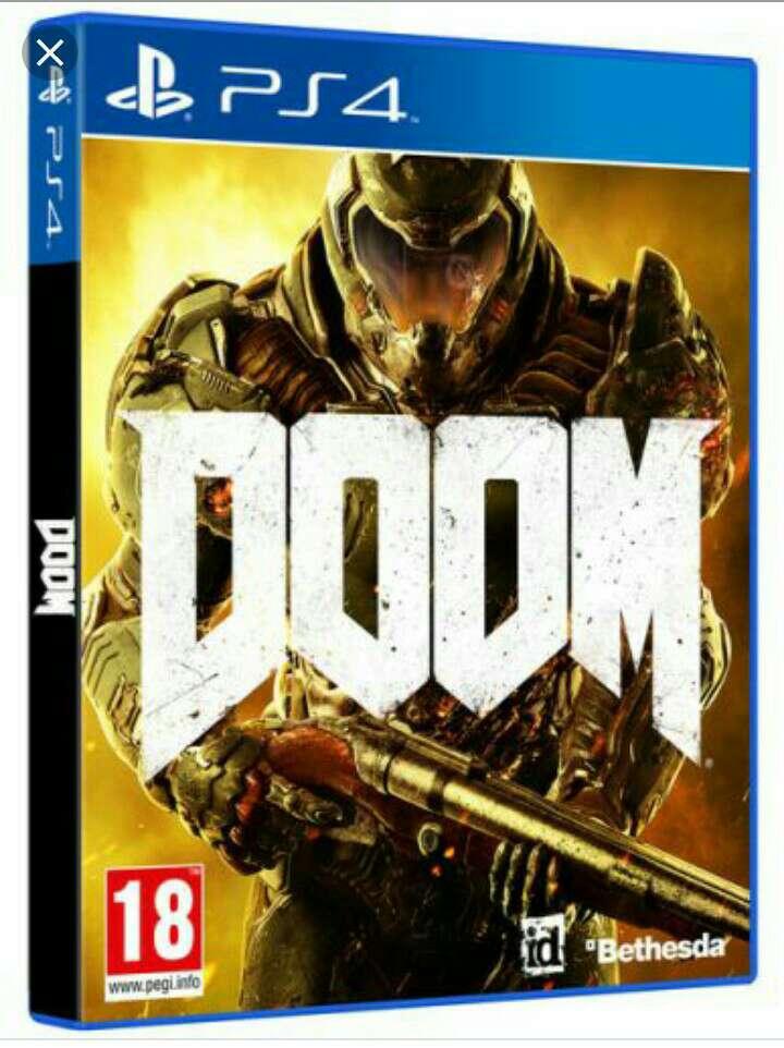 Imagen producto Ps4  doom videojuego  2