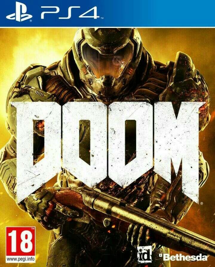 Imagen producto Ps4  doom videojuego  3