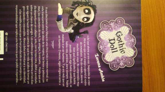 Imagen producto Libro Gothic Doll 2