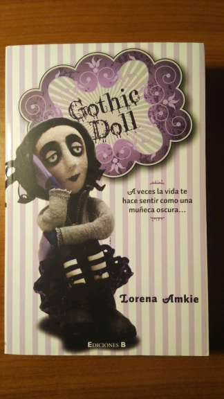 Imagen producto Libro Gothic Doll 1