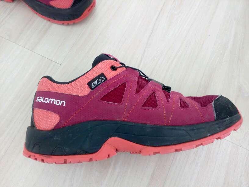 Imagen zapatillas botas senderismo goretex Salomón niña número 34 muy buen estado apenas usadas